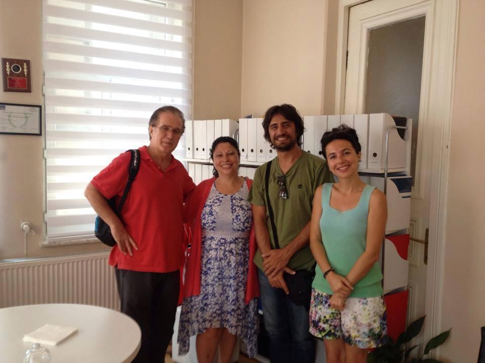 Toronto film festivaline gitmeden önce değerli yönetmenlerimiz bizleri ziyaret etti.
