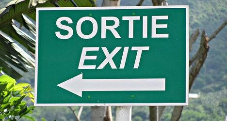 Kanada'da Sokak İşaretlerinde İki Dilde Kullanılmaktadır.